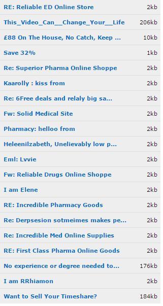 Spam Headlines